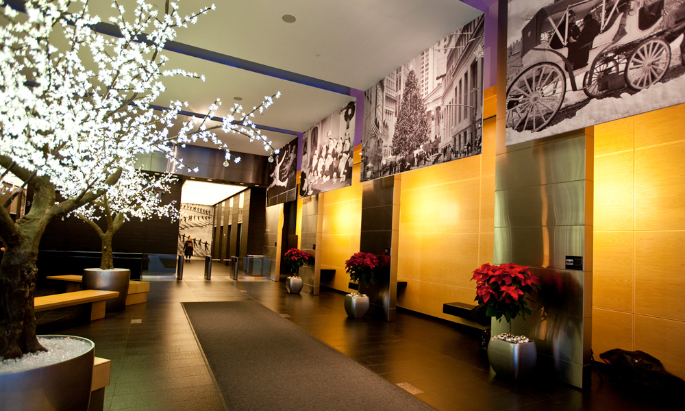 Why decorate corporate spaces for the holidays?