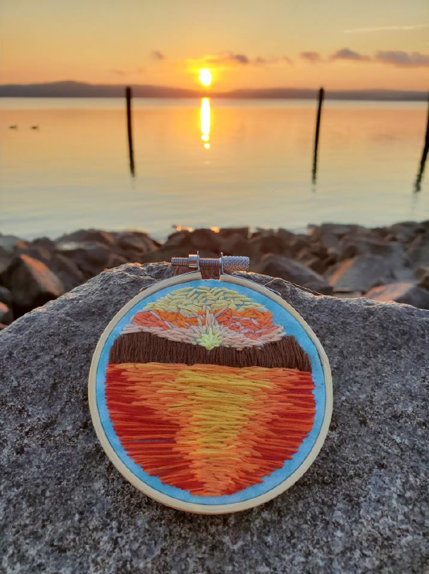 Nature. Embroidery. Zen.