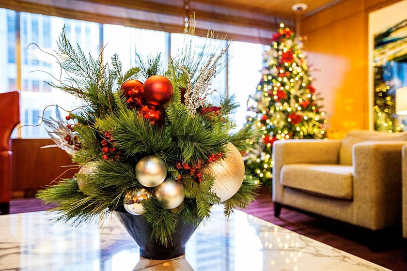 office holiday decor. corporate holiday decor projects holidays office image r