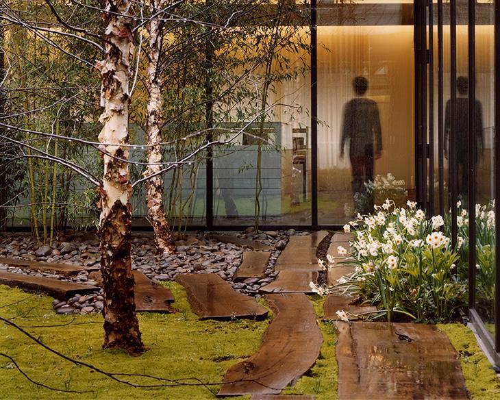 Woodland Inspired Courtyard