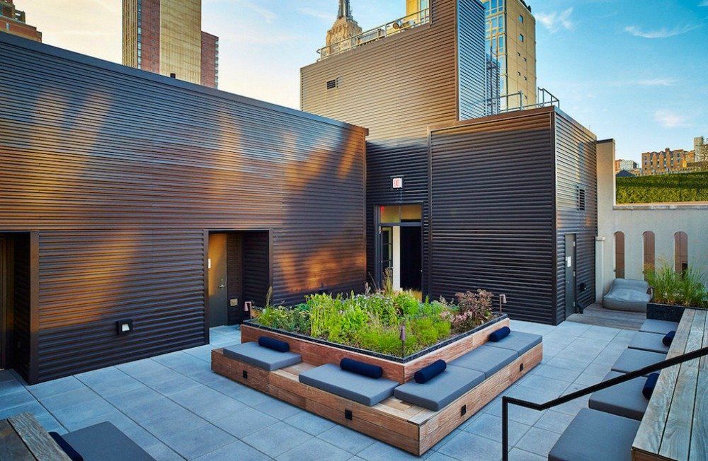 Perennial Rooftop Garden