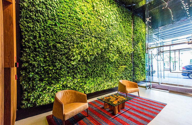How To Build A Living Wall Garden